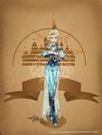 Disney steampunk: Elsa by MecaniqueFairy
