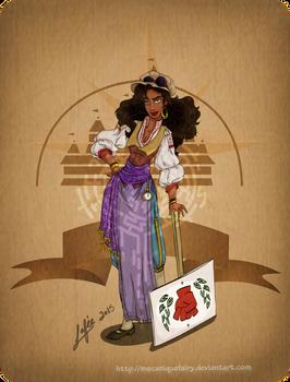 Disney steampunk: Esmeralda