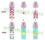 Rainbow Quartz bookmark by MecaniqueFairy