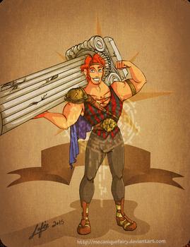 Disney steampunk: Hercules