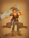 Disney steampunk: Hercules by MecaniqueFairy