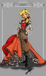 Alex: Design character by MecaniqueFairy