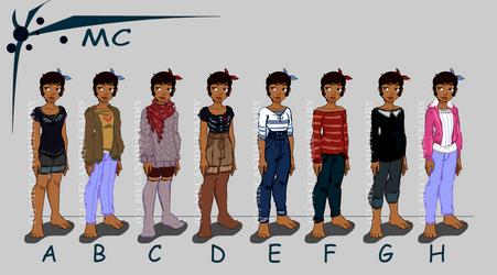 MC otome by MecaniqueFairy