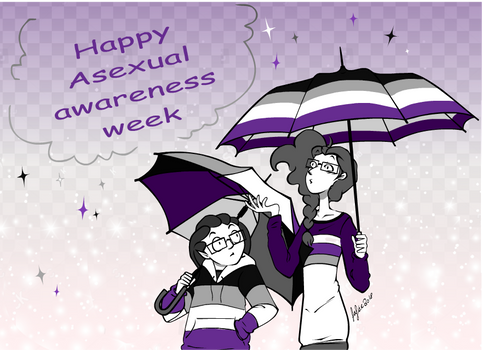 Asexual awareness week by MecaniqueFairy