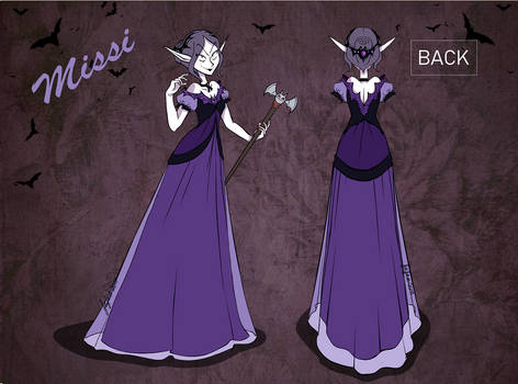 Vampires Ball Missi (contest) by MecaniqueFairy