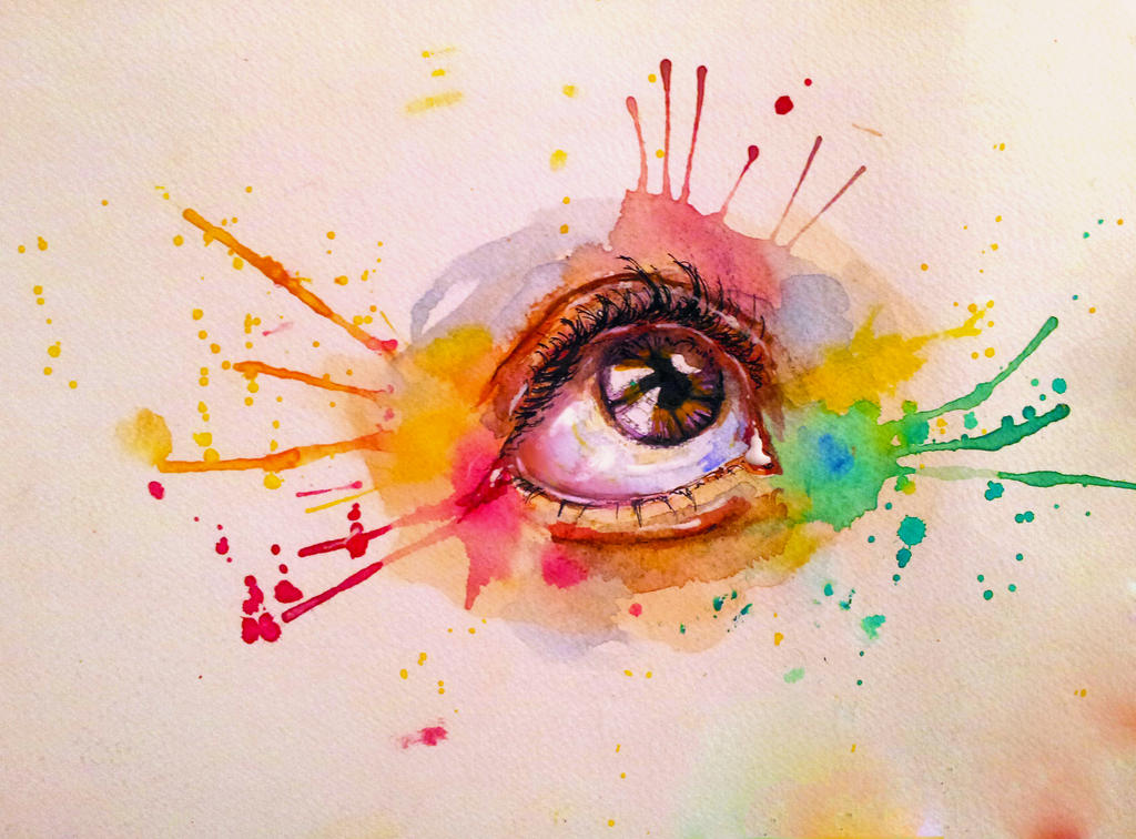 first time watercolor painting by salma h on deviantart