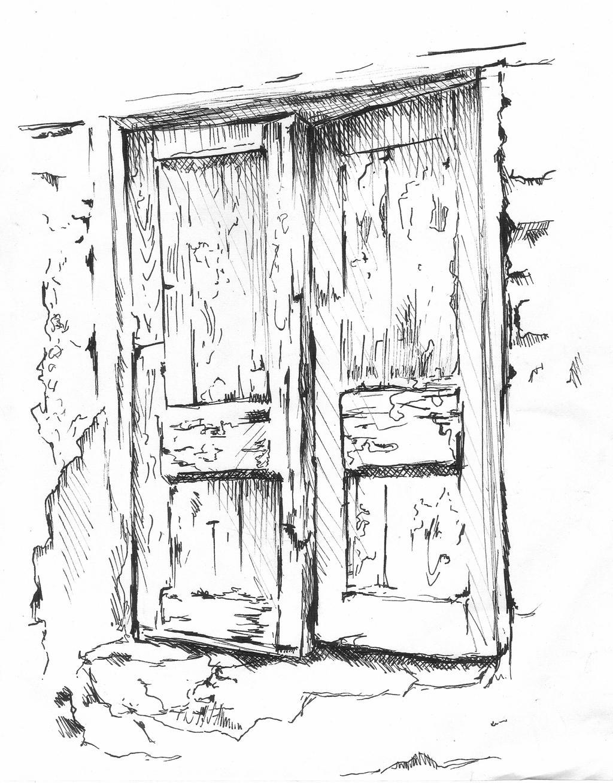 Old Door By Salma H