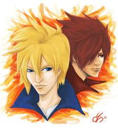 Garo: Honoo no Kokuin [Alfonso and Leon]