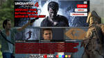 (Custom) Uncharted 4 web site interface by AndreyewWilliams