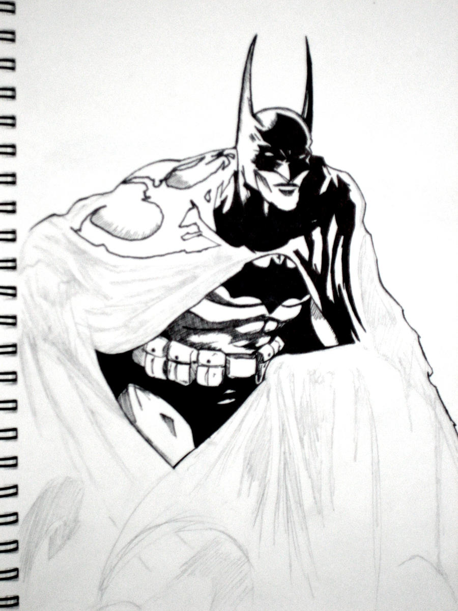 the batman by rvh2099
