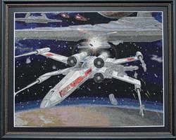 Star Wars Cross stitch - self designed. by StitchingDreams