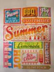 Summer Words, Cross Stitch Crazy 192 by StitchingDreams