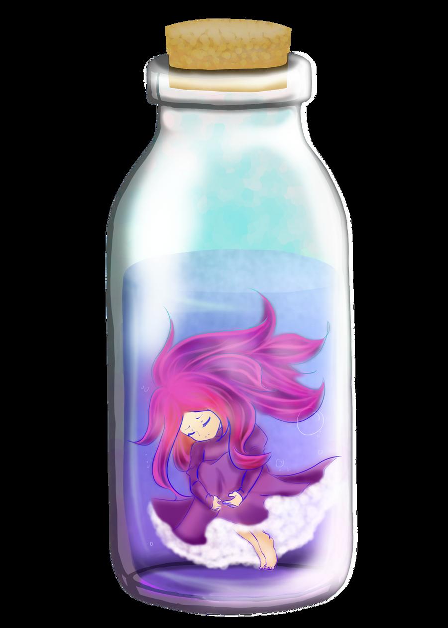 Bottle Girl by Selanime