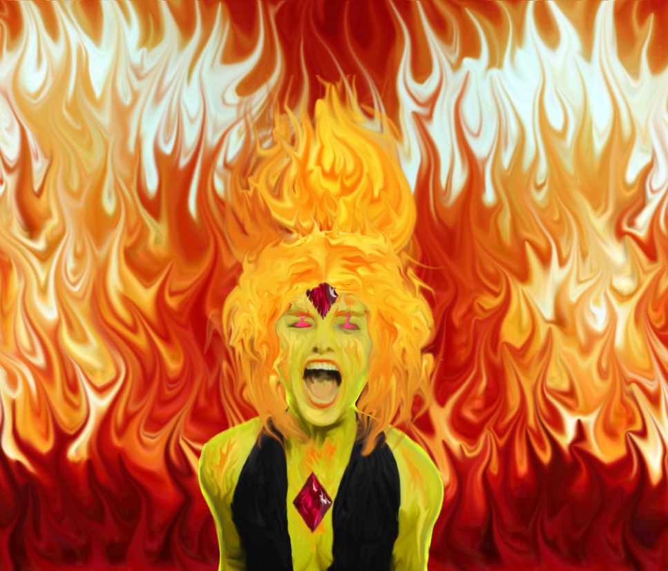 Fury Of The Flame Princess By Hespahaestus On Deviantart