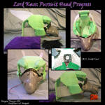 Lord Kass Fursuit In Progress by Archaeidae