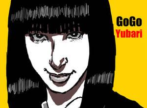 GoGo Yubari (close up)