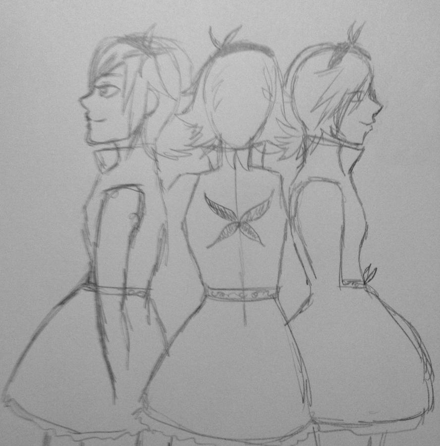 Concept, Rough side and back views by RikkuFukaimori