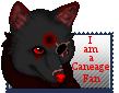 Caneage fan stamp by Zatch-The-Mutt
