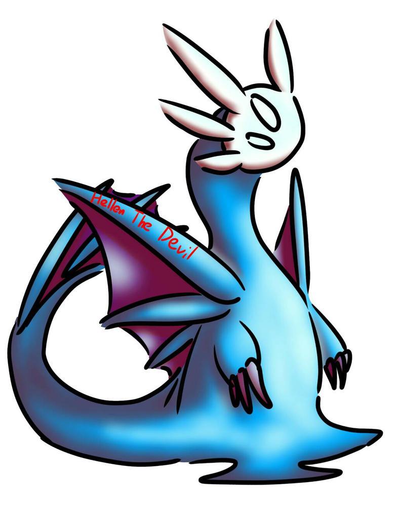 slime dragon by HellenTheDevil