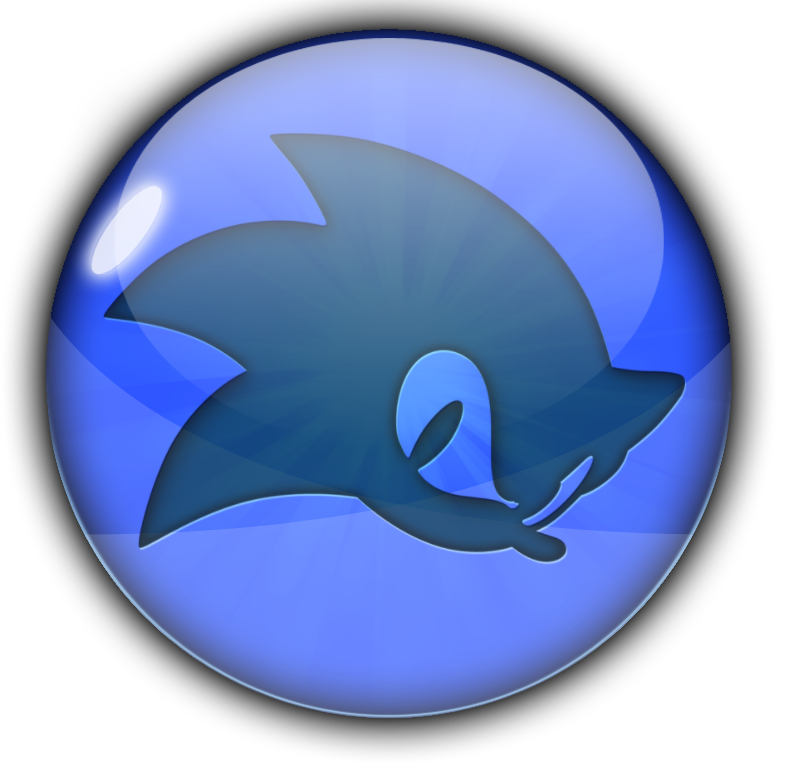 Sonic Gloss Icon by Omegarix93 on DeviantArt: omegarix93.deviantart.com/art/Sonic-Gloss-Icon-398009055