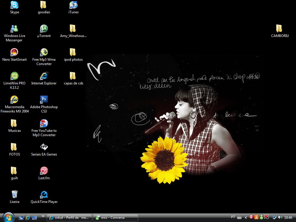 Desktop: Lily Allen. by filipecopi