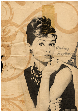 audrey vintage. by filipecopi
