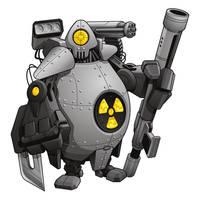 Heavy Water Robot OG by BurningEyeStudios