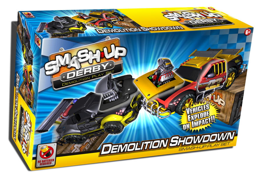 Crash Derby Cars Toys