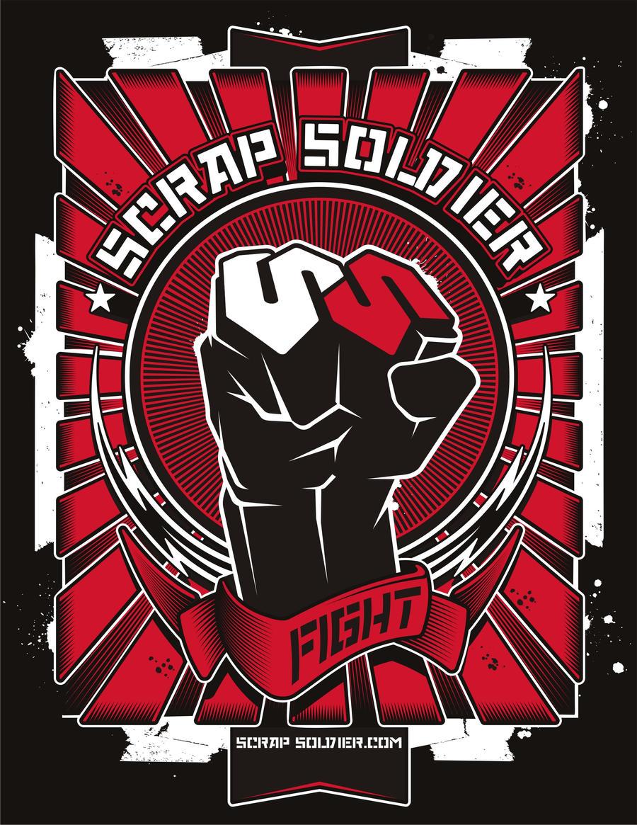 Scrap Soldier Fight Graphic