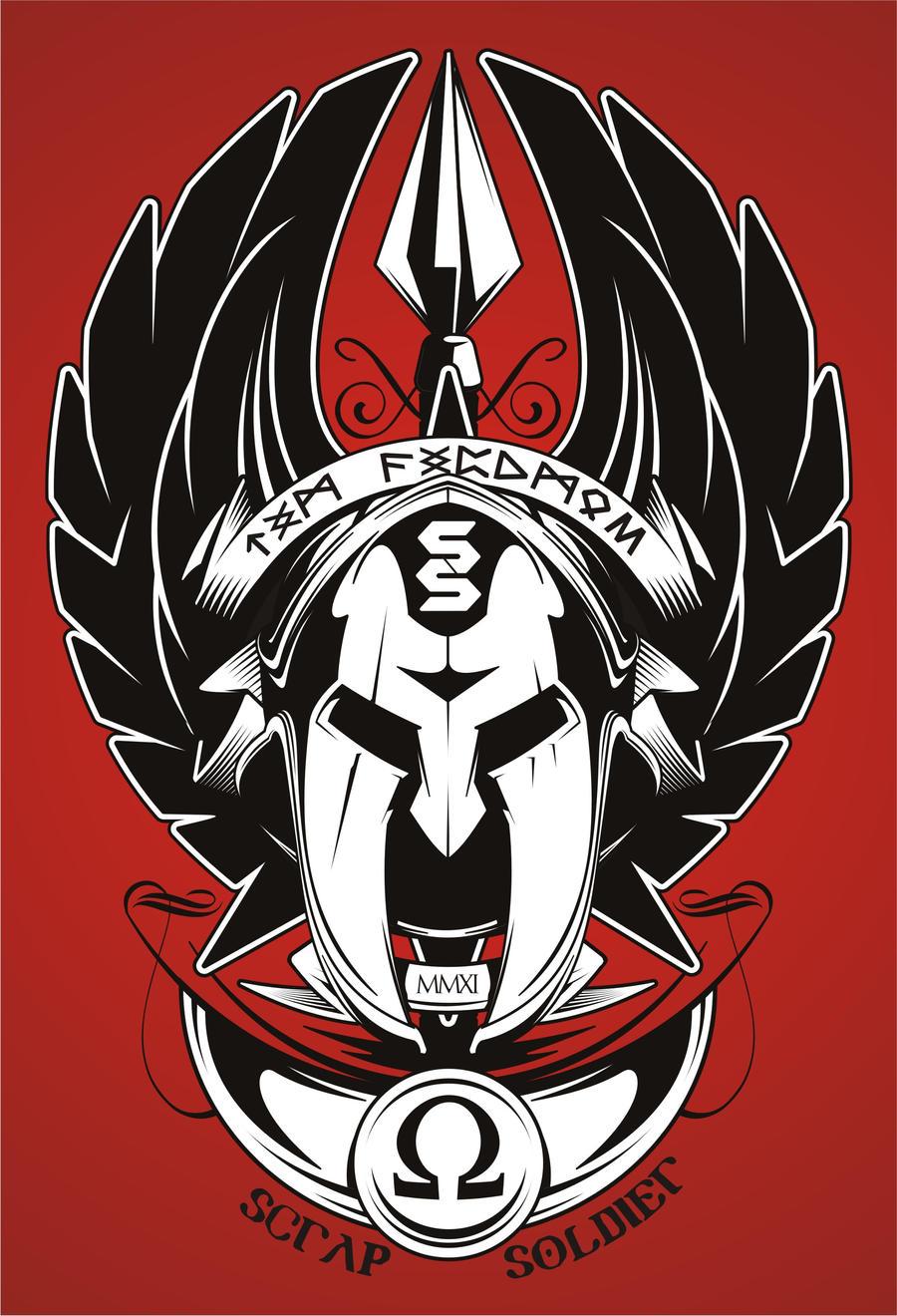 Scrap Soldier Gladiator by BurningEyeStudios
