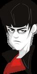 Emo Character Bust by BurningEyeStudios