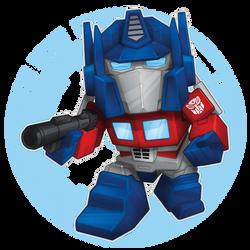 Transformers Optimus Full Mini copy by BurningEyeStudios