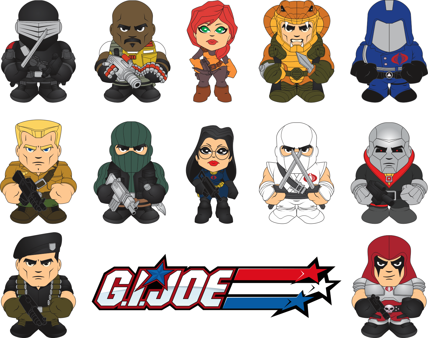 GI Joe Classic Mini Figure Design by BurningEyeStudios on DeviantArt
