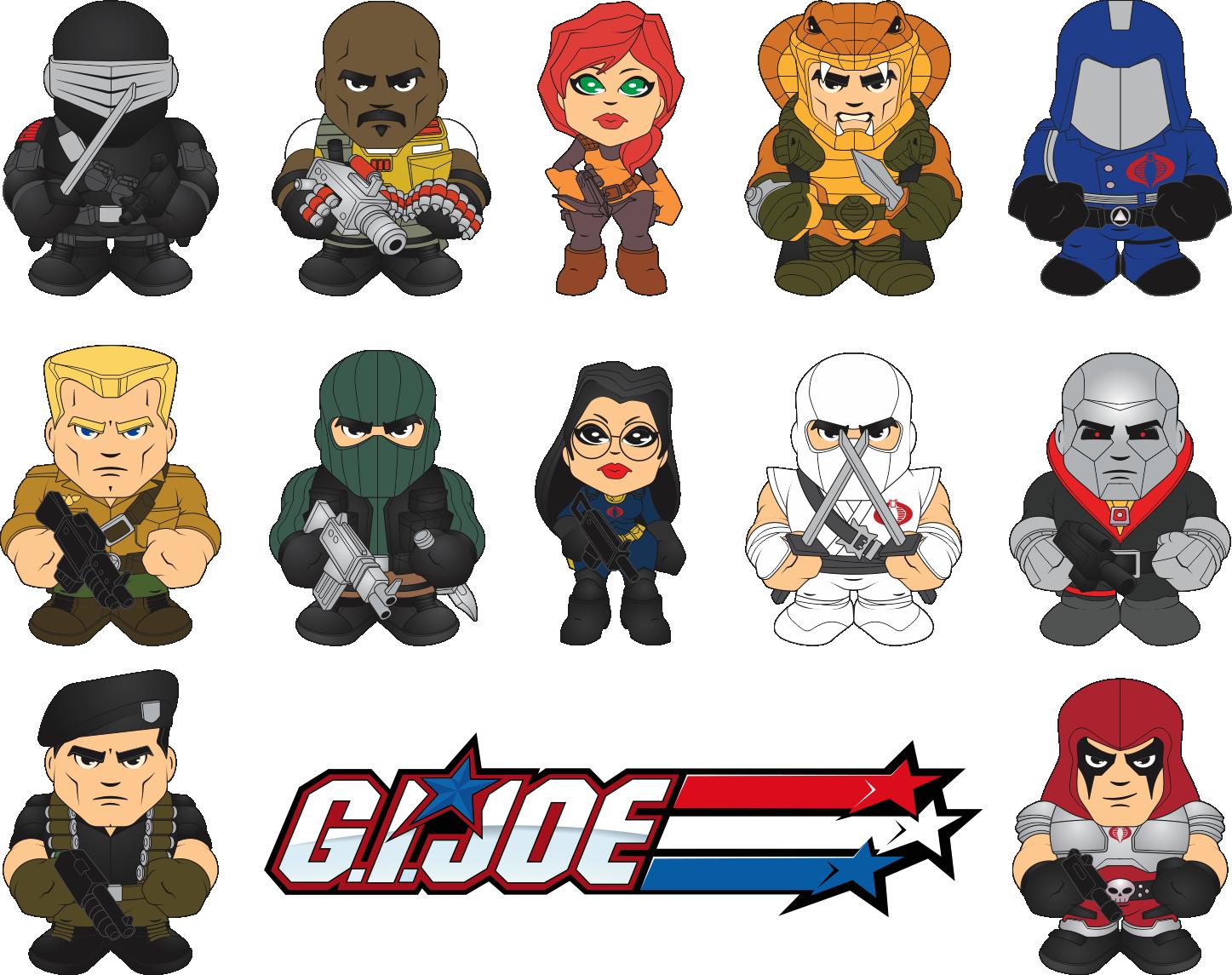 GI Joe Classic Mini Figure Design by BurningEyeStudios on DeviantArt