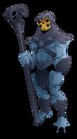 MOTU Skeletor by BurningEyeStudios