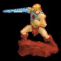 He-Man Action Pose by BurningEyeStudios