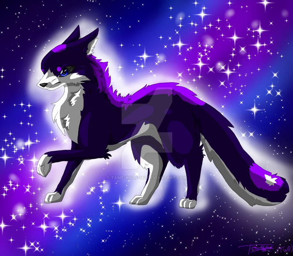 Galaxy Wolf By Tamz-Wolf-182 On DeviantArt