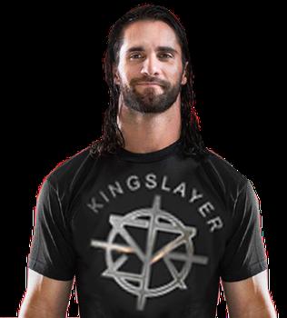 Seth Rollins Render Kingslayer T Shirt 2017 by ProWrasslinEditor