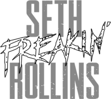 Seth Rollins png logo by ProWrasslinEditor