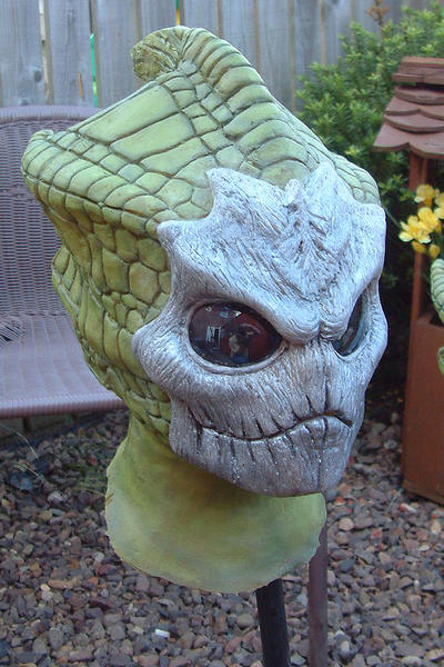 Silurian Warrior Mask by Urban-Spaceman
