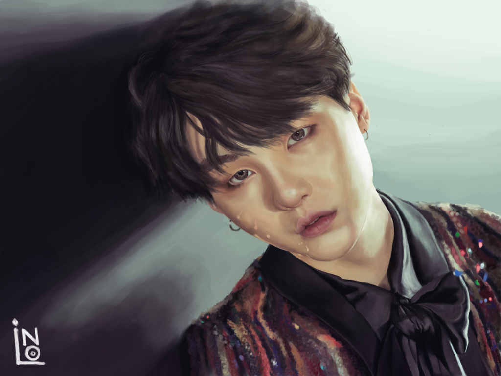 Min Yoongi of BTS by lo6ni