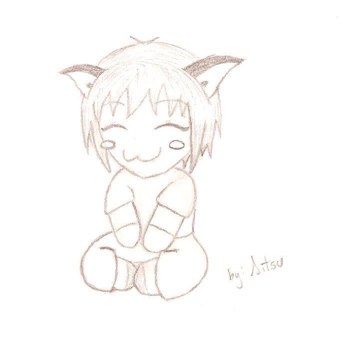 Chibi Cat-boy By ArKRaveN On DeviantArt