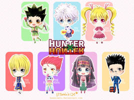 Hunter x Hunter Chibi by kawaiimiu