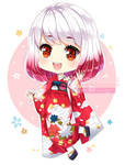 Commission - Kimono Girl