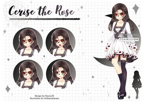 Commission VN - Cerise the Rose