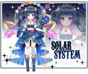 [CLOSED] Adoptable Solar System by kawaiimiu
