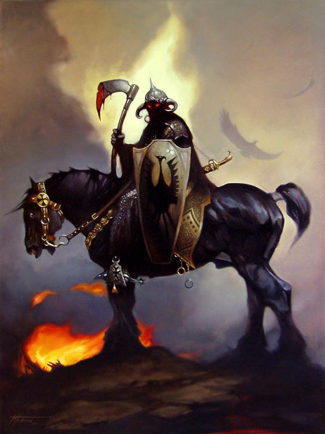 'Death Dealer' by thomsontm