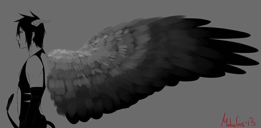 The Demon Crow by garrchomped