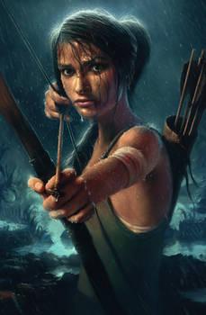 Lara Croft Reborn Contest Entry