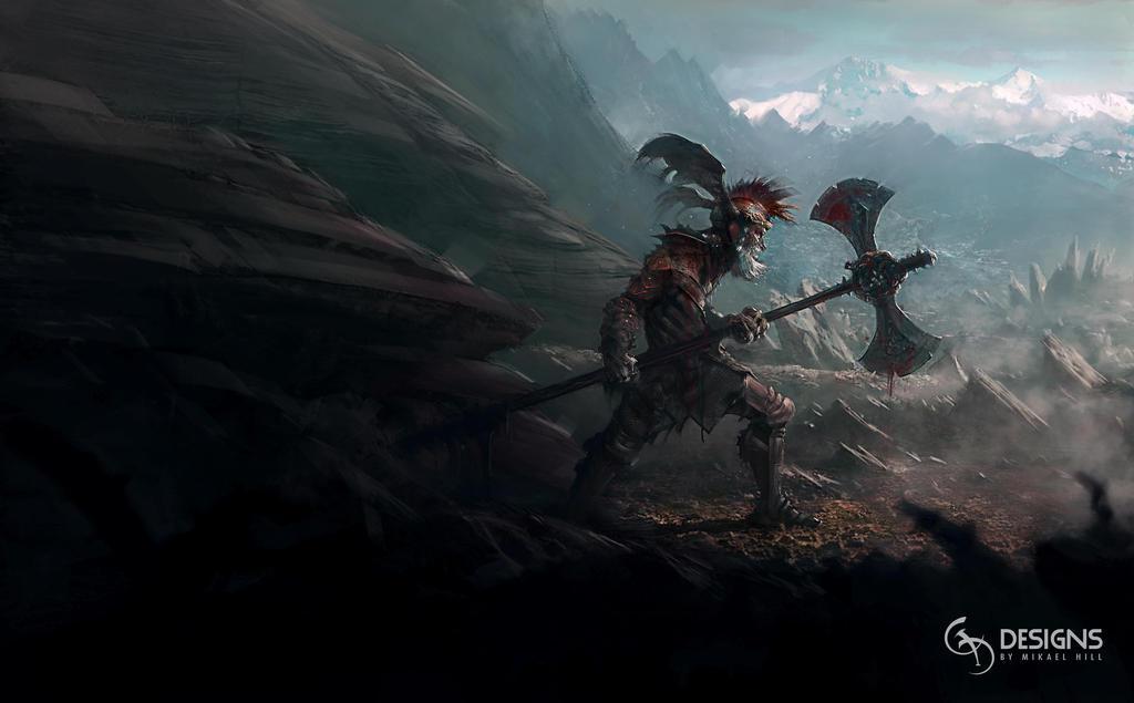 Loki Warrior Concept by mickehill
